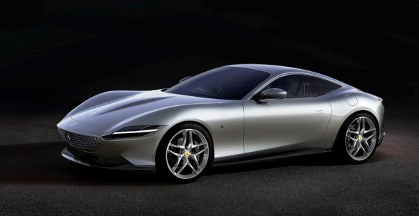 Ferrari'den Yeni Coupe: Roma
