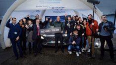 Hidrojenli Hyundai NEXO'dan Dünya Rekoru