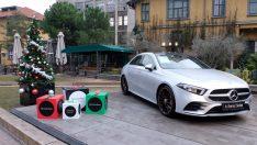 Mercedes-Benz Pop-Up Box,  Yılbaşı Konseptiyle İstanbul Bomontiada'da