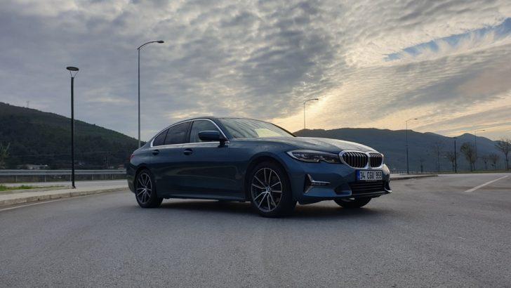 BMW 3 Serisi'ne Sert Makyaj
