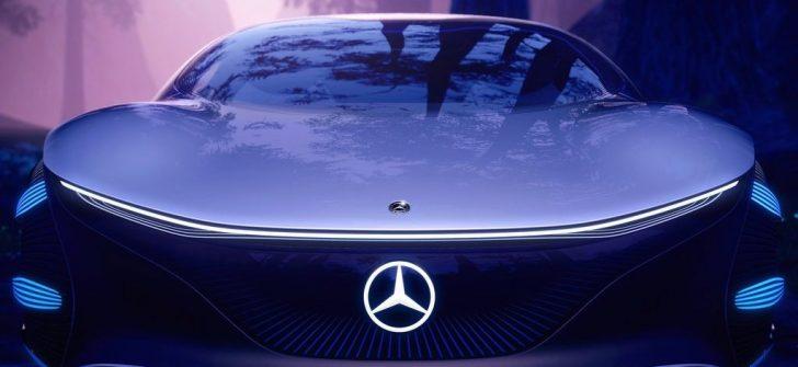 Gelecekten Gelen Bir  Mercedes-Benz; Vision AVTR