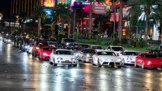Dünyanın Dört Bir Yanından Gelen  Toyota Supra Fanları Vegas'ta Toplandı