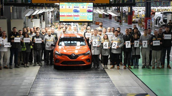 Oyak Renault, otomobil üretiminde liderliğini 2019'da da korudu