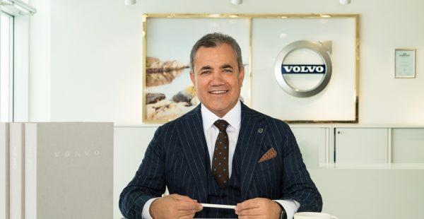 Volvo Car Turkey'in  İlk Türk Genel Müdürü Sabri Sözen İsveç'e Atandı