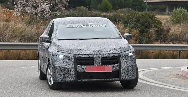 Yeni Dacia Logan kış testlerine devam ediyor