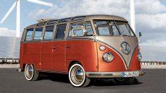 Volkswagen T1 elektriklendi