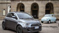 Tamamen Yeni ve Elektrikli Fiat 500!