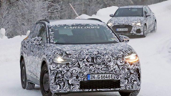 Audi Q4 E-Tron kameralara yakalandı