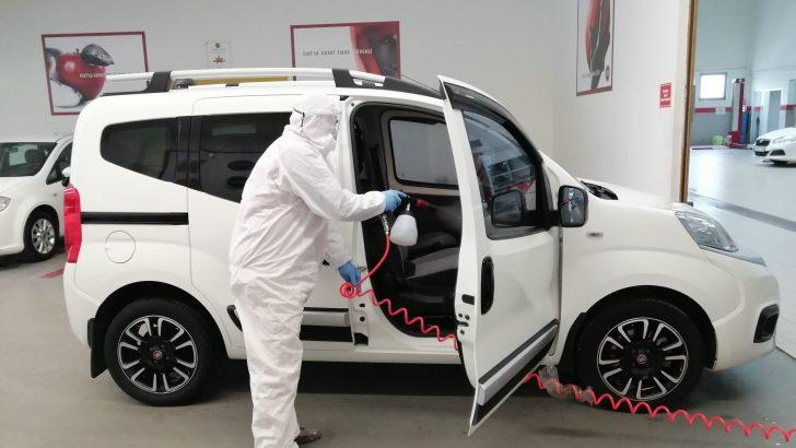 Tofaş'tan ücretsiz araç dezenfeksiyonu hizmeti!