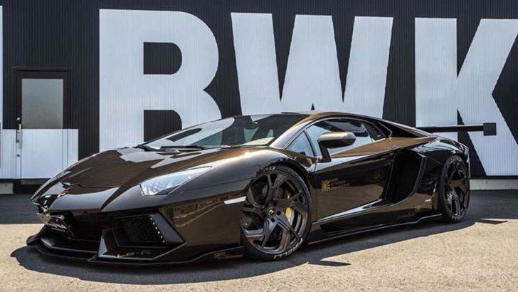 Liberty Walk yorumuyla Lamborghini Aventador