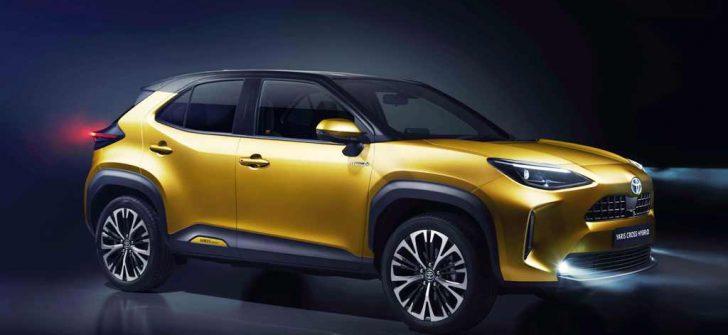 Toyota'nın yeni bebeği Yaris Cross Hibrit Tanıtıldı