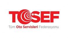 """TOSEF:""""Servislerin Vale Uygulaması  Salgın Riskini Yükseltiyor"""""""