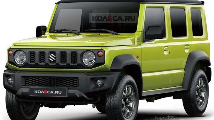 Suzuki Jimny 5 kapılı olarak üretilecek