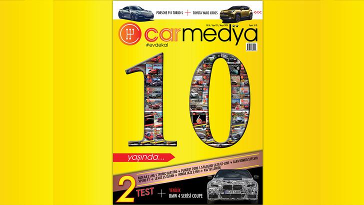 Dijital otomobil dergisi Carmedya 10 yaşında!
