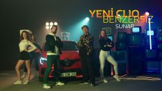 Renault Clio'ya özel dijital reklam
