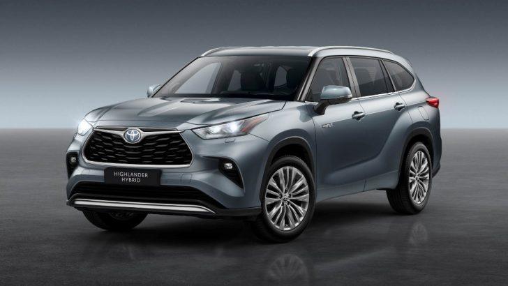 Toyota'nın En Büyük Hibrit SUV'u HIGHLANDER Avrupa'ya Geliyor