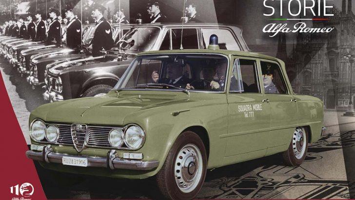 İtalyan emniyet teşkilatının ve halkın favorisi: Alfa Romeo 1900, Giulia ve Giulietta!