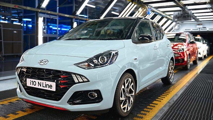 Hyundai Assan Yeni i10 N Line'ın üretimine başladı