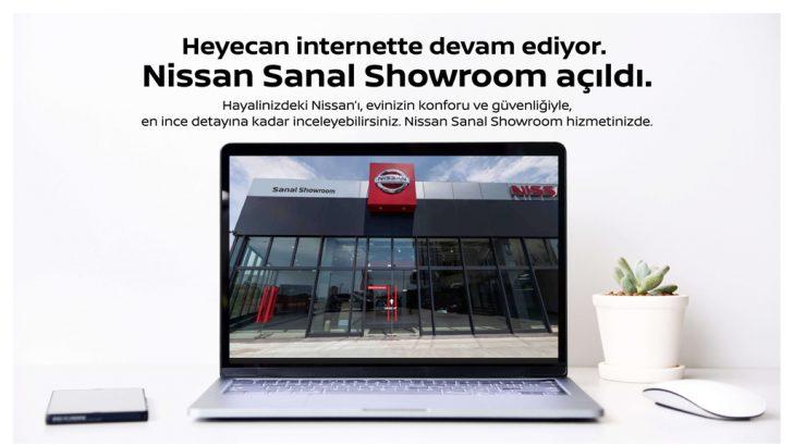 Nissan modellerini sanal showroom ile online ortama taşıdı