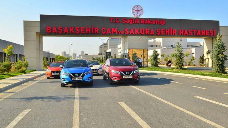 Nissan'dan sağlık çalışanlarına büyük destek
