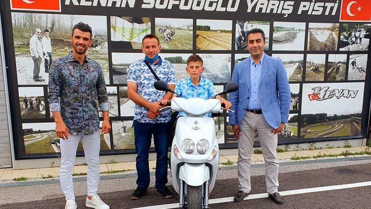 Kendi motosikletini yapan Ramazan Can'a Yamaha'dan büyük sürpriz