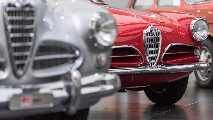 Alfa Romeo Müzesi yeniden açıldı