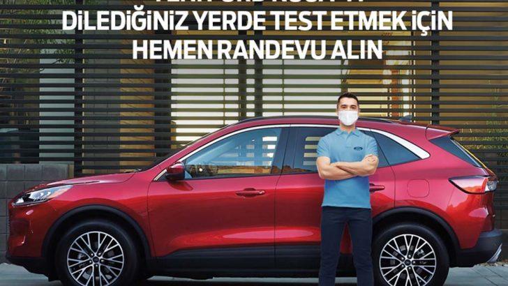 Ford'dan müşterilerine yepyeni bir test sürüşü deneyimi