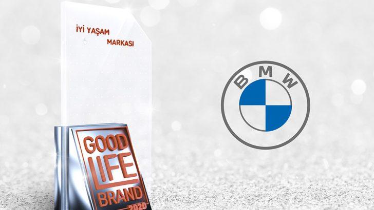Otomotiv'de iyi saşam markası ödülü BMW'nin