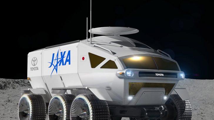 """Toyota'nın Aya Gidecek Aracının Adı """"LUNAR CRUISER"""""""