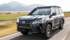 Lexus Ekstrem SUV konsepti ve kadın pilotlarla 10 günlük ralliye katılıyor