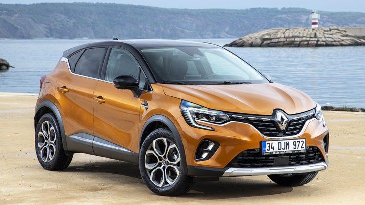 Yeni Renault Captur Türkiye'de