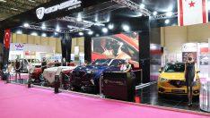 KKTC'nin yerli ve milli otomobili Günsel, Müsiad Expo'da sahne aldı