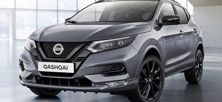 Nissan Qashqai Midnight Edition yollarda!