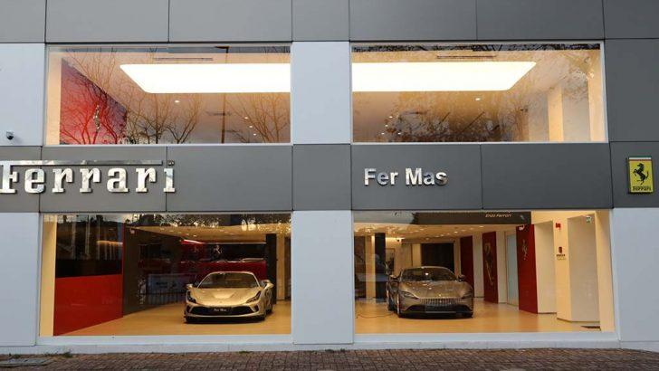 Ferrari'den İstanbul'a özel yeni showroom konsepti