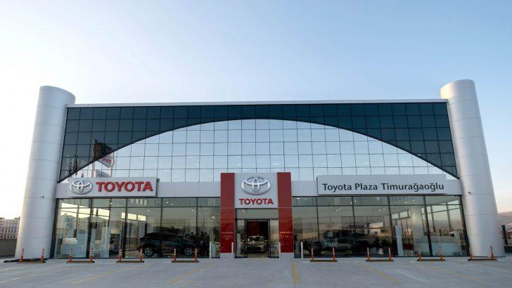 Toyota, Türkiye'deki bayi sayısını 60'a yükseltti