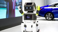 Hyundai Motor Grubu İnsansı Robot DAL-e'yi tanıttı