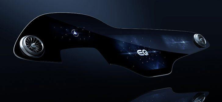İlk olarak EQS modelinde sunulacak Hyperscreen tanıtıldı