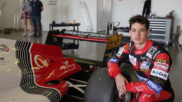 Cem Bölükbaşı'dan Formula 3'te büyük başarı