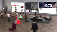 """Audi'den sanal ortamda çalışma ve öğrenmeye teşvik: """"Audi Spaces"""""""