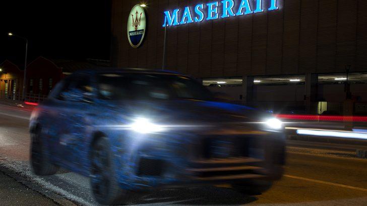 Maserati Grecale SUV prototipi görüntülendi