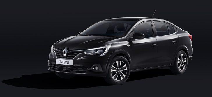 Şık ve yenilikçi Renault Taliant karşınızda