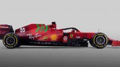 Scuderia Ferrari SF21'i tanıttı