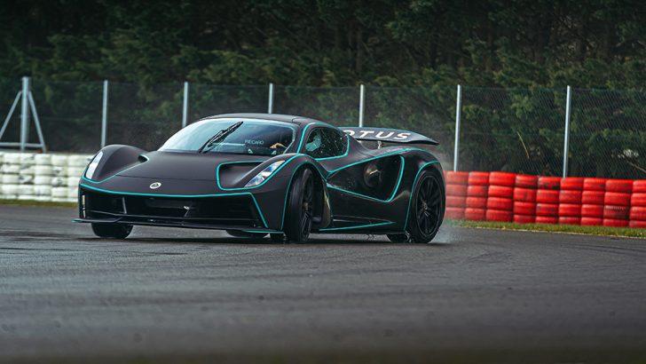 Lotus Evija BBC Top Gear Electric ödüllerinde şereflendirildi