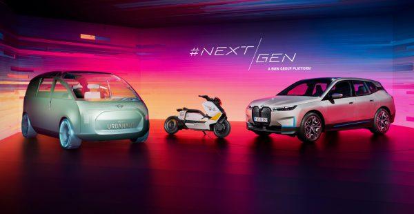 """BMW iX'in Dijital Lansmanı """"iF Design Gold Award 2021"""" ödülünü kazandı"""