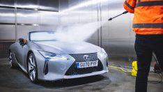 Lexus'un üstü açılan LC Convertible modeli ekstrem dondurucu testlerden geçti
