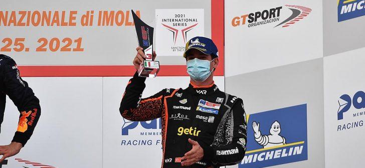 Cem Bölükbaşı, Euroformula Open Imola yarışlarından da kupayla döndü