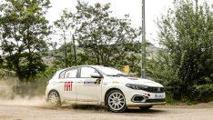 Fiat Motor Sporları Hitit Rallisi'ni kategorisinin lideri olarak tamamladı