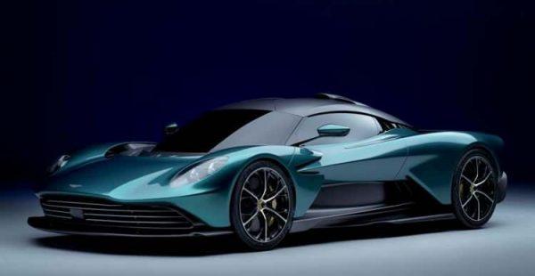Hibrit Trendlerinden O da Nasiplendi: Aston Martin Valhalla