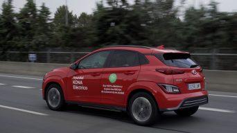 Hyundai KONA Electric Yine Menzil Rekoru Kırdı!