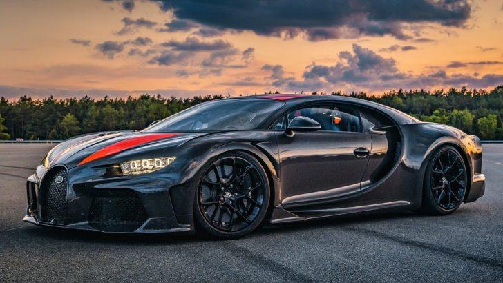 Dünyanın en hızlı seri üretim aracı; Bugatti Chiron Super Sport 300.